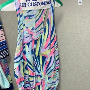 Lilly Pulitzer Luxletic Tank Top Size Large